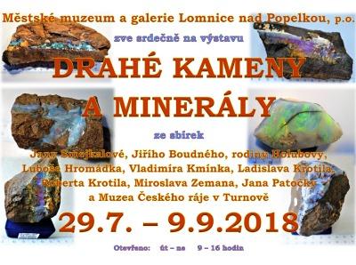 Drahé kameny a minerály už po dvaadvacáté v lomnickém muzeu