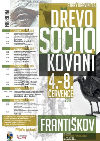 Dřevosochokování ve Františkově opět doplňuje i kulturní program