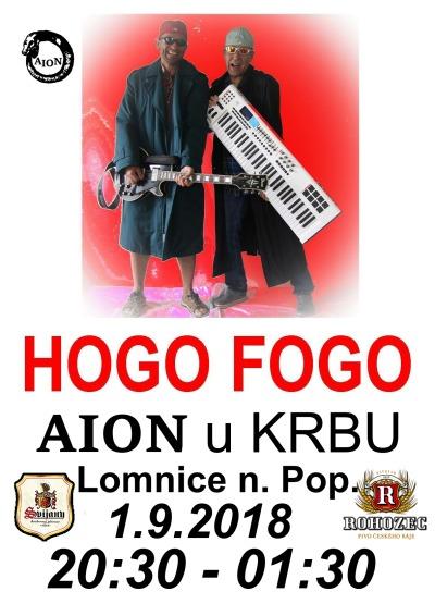 V lomnickém klubu zahraje místní duo Hogo fogo