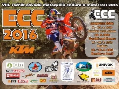 Osmý ročník seriálu KTM ECC zahájí v Kunčicích