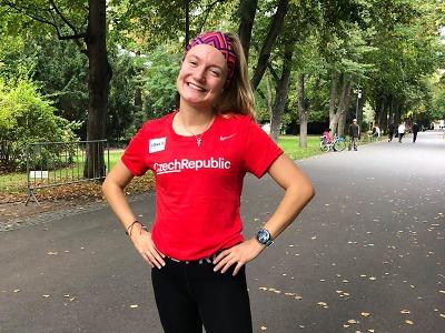 Eliška Martínková z Turnova oblékla v Poděbradech reprezentační dres
