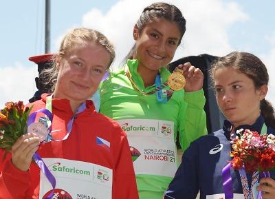 Eliška Martínková si došla pro juniorský světový bronz!