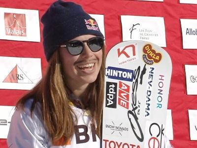 Eva Samková vyhrála v Gruzii pošestnácté závod světového poháru