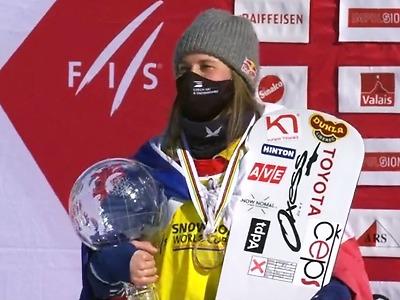 Samková opanovala finále ve Veysonnaz a má třetí křišťálový glóbus!