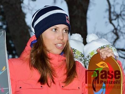 Eva Samková vyjela na korejském sněhu bronzovou medaili
