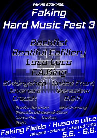 Jarmark v Brodě doprovodí minifestival Faking hard music fest 3