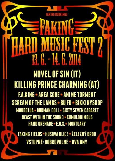 Jarmark v Brodě doprovodí minifestival Faking hard music fest 2