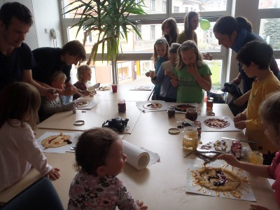 V Semilech se snídalo na podporu fairtradových a lokálních pěstitelů