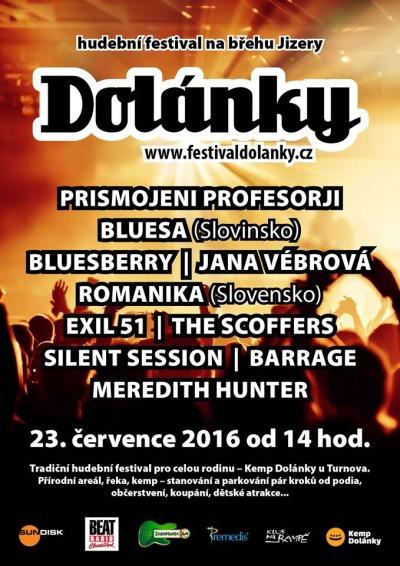 Festival Dolánky představí slovinské Profesorji a Bluesberry