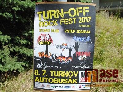 Turn-off rock fest se při druhém ročníku přesouvá na autobusák