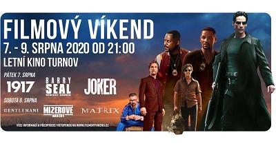 V letním kině Turnov opět přichystali Filmový víkend 2020
