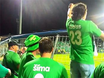 VIDEO: Fanoušci Jablonce si užívali finálové vítězství