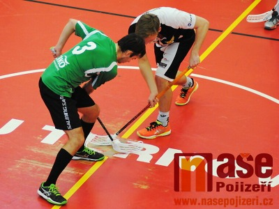 Florbalisté Turnova bojují o setrvání v Národní lize v pátém zápase