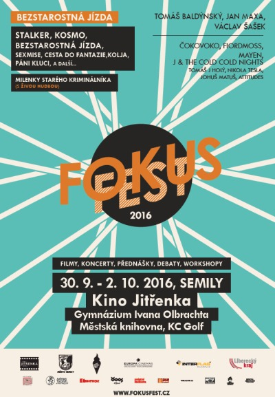 Festival Fokus Fest udělá ze Semil na přelomu září a října filmové město