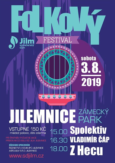 V jilemnickém zámeckém parku pořádají Folkový festival