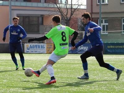 Fotbalisté Turnova v poslední přípravě prohráli v Praze s Meteorem