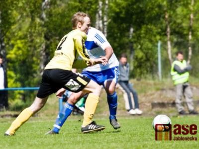 Rezerva FKP Turnov brala v podivném zápase bod za remízu