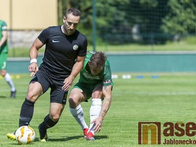 Rezerva Slovanu Liberec v závěru otočila zápas proti Přepeřím