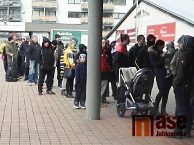 Prodej volných lístků na zápas Jágra v Liberci vzbudil zájem fanoušků