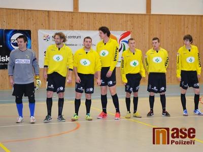 Futsalisté Jilemnice vyzvou v odvetě čtvrtfinále Poličku