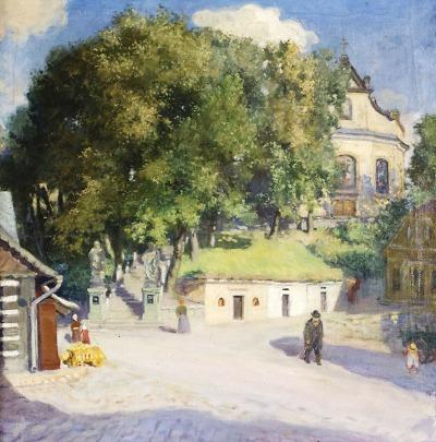 Klasiky české krajinomalby představují na výstavě v Galerii Detesk