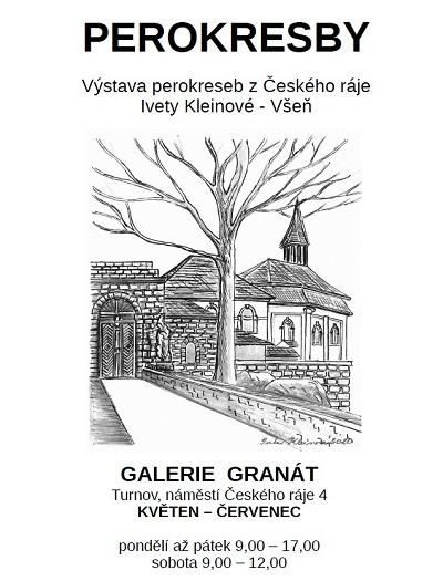 Galerie Granát představí Perokresby Ivety Kleinové