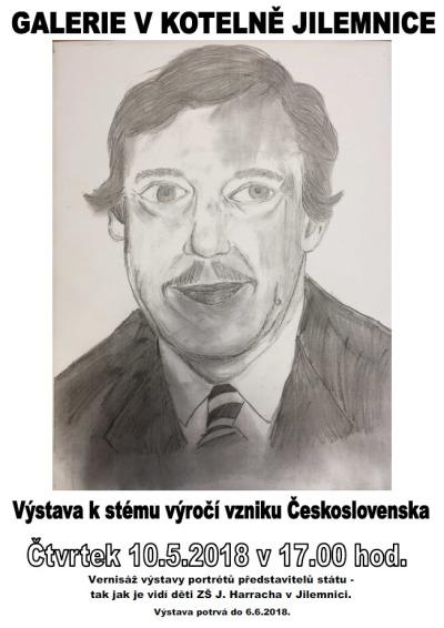 V jilemnické galerii V Kotelně připomínají sté výročí Československa