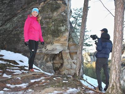 Natáčí videospot pro Globální geopark UNESCO Český ráj