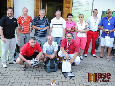 FOTO: Velká cena Unitop ČR určila nejlepší golfisty z řad policistů