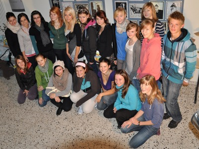 FOTO: Studenti gymnázia strávili týden v partnerském Weißwasseru