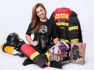 Hana Havlíčková: Jsem nyní sedmá nejrychlejší hasička na světě!