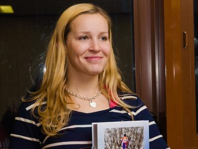 Harrachovská lyžařka Tereza Kmochová získala český titul ve slalomu