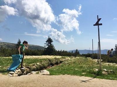 Hory v okolí Harrachova jsou čisté, bez odpadků