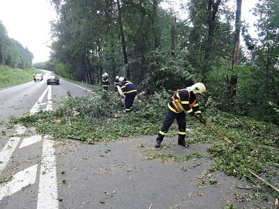 Bouře Fabien způsobila škody i v Pojizeří a Libereckém kraji