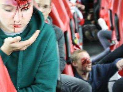 Došlo k nehodě autobusu se zraněnými v Peřimově, naštěstí cvičně!