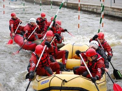 Krajští hasiči cvičili na divoké vodě