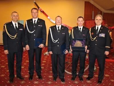 Ocenění pro hasiče roku obdrželi i zástupci HZS Libereckého kraje