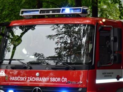 Liberečtí hasiči zasahovali u dvou dopravních nehod