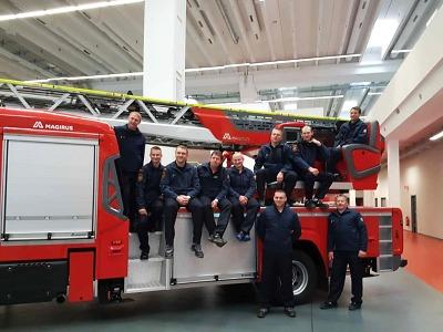 Liberečtí hasiči převzali v Ulmu cenu pro vítězný tým Magirus Award