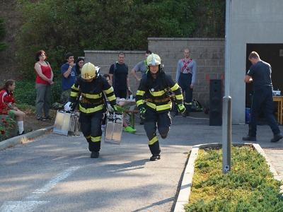 Krajští hasiči si vedli úspěšně při Memoriálu záchranářů z Manhattanu