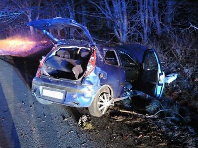 Na R10 v Příšovicích došlo ke dvěma nehodám, tři lidé jsou zranění