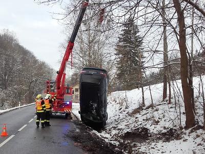 Leden hlásí přes 400 nehod. Vážných kolizí ale dlouhodobě ubývá