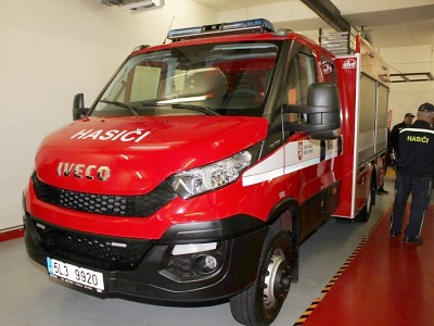 Kraj podpoří hasiče dotacemi na automobily či rekonstrukci zbrojnic
