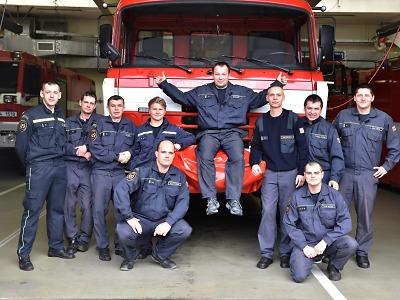 Někteří hasiči nastoupili v závěru roku na svou poslední směnu