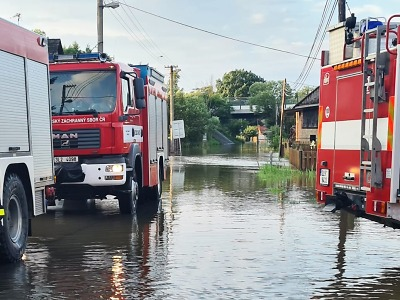 Škody po víkendových povodních v Libereckém kraji jsou 162 milionů