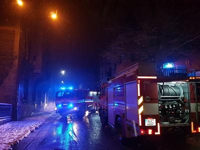 Krajští hasiči o víkendu likvidovali velké požáry v Liberci a České Lípě
