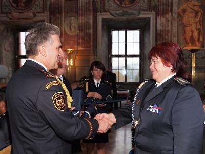V Trojském zámku v Praze hasiči udělili významná ocenění