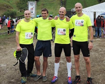 Hasičská štafeta HZS Libereckého kraje stříbrná v extrémním závodě