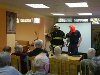 Podzim patří bezpečí seniorů, hasiči pořádají školení