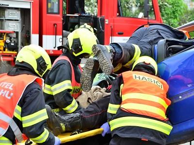 Dobrovolní hasiči Libereckého kraje soutěžili ve vyprošťování